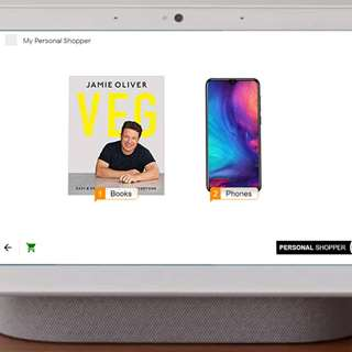 Ecommerce Google Assistant Smart Display